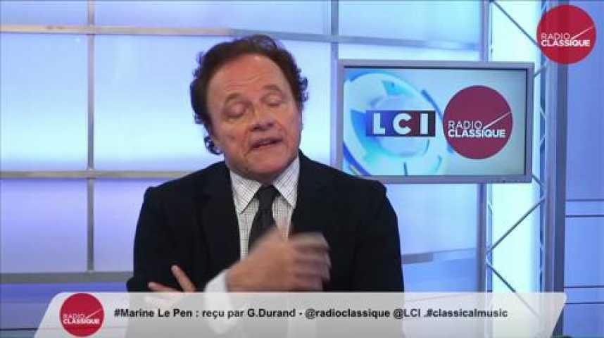 """Illustration pour la vidéo Marine Le Pen - Grèce : """"Je voterais non!"""""""