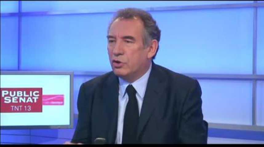 Illustration pour la vidéo L'invité politique : François Bayrou (Modem)