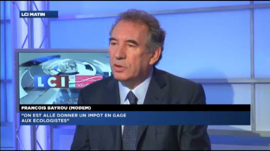 """Illustration pour la vidéo François Bayrou : """"La situation imposera une remise à plat du système des retraites"""""""