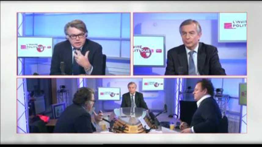 Illustration pour la vidéo L'invité politique : Gilbert Collard (FN)