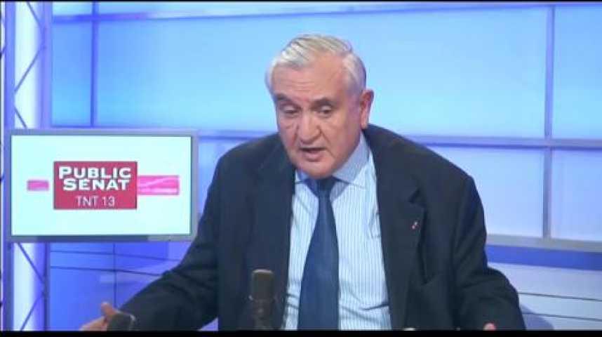 Illustration pour la vidéo L'invité politique : Jean-Pierre Raffarin, Sénateur de la Vienne (UMP)