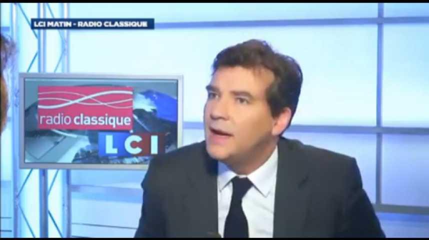 """Illustration pour la vidéo Arnaud Montebourg : """"La questions des roms ne peut pas se résoudre qu'avec des expulsions"""""""