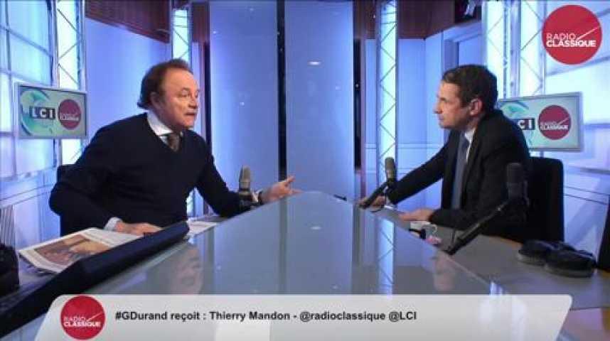 """Illustration pour la vidéo Thierry Mandon, """"Le Premier Ministre est un lanceur d'alertes. Il est minuit moins le quart pour la démocratie"""""""