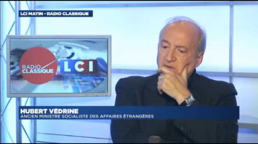 """Illustration pour la vidéo Hubert Védrine : """"François Hollande est courageux depuis le 14 janvier"""""""