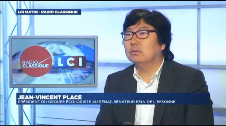 Illustration pour la vidéo Jean-Vincent Placé : «EMMANUEL MACRON : On parle d'un gars qui a fait une déclaration mais il ne va rien se passer»