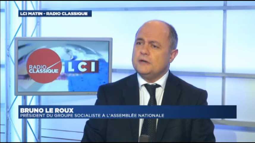 """Illustration pour la vidéo Bruno Le Roux: """"Je ne souhaite pas qu'il y ait capitulation sur l'Écotaxe"""""""