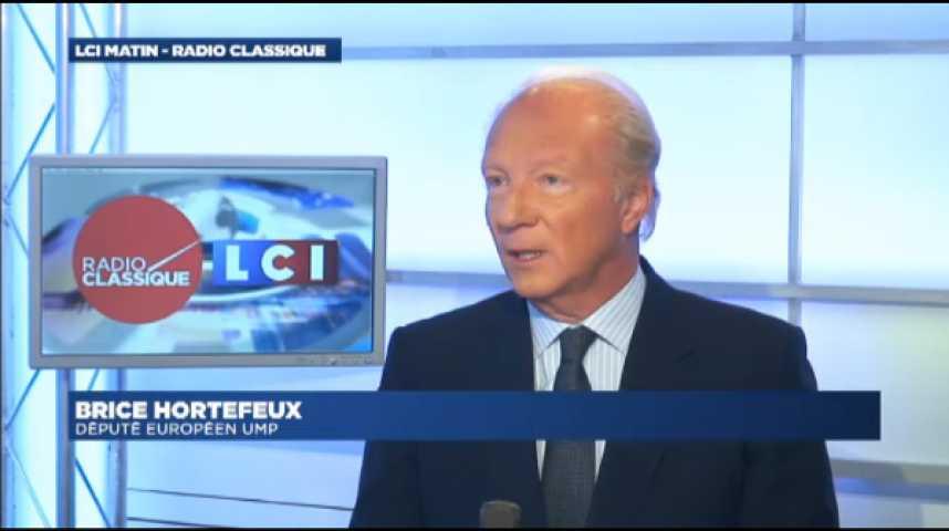 """Illustration pour la vidéo Brice Hortefeux : Les affaires : """" Je suis convaincu que ce sera une force pour Nicolas Sarkozy """""""