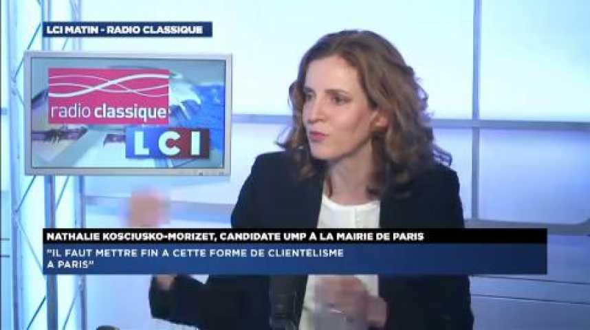 """Illustration pour la vidéo NKM: """"On aurait envie de croire François Hollande, mais ce ne sont que des paroles"""""""