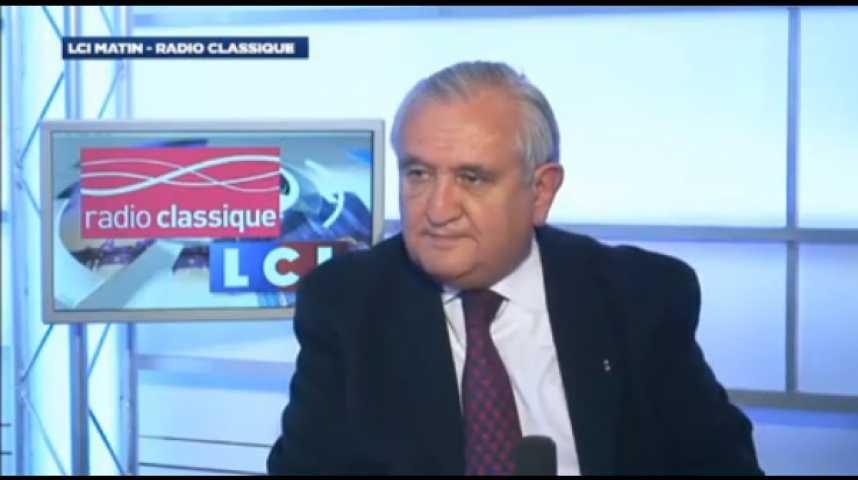 """Illustration pour la vidéo Jean-Pierre Raffarin : """"Je pense qu'on va être obligé de changer ce gouvernement puisque l'on voit bien que le Président n'est pas capable de passer à l'acte"""""""