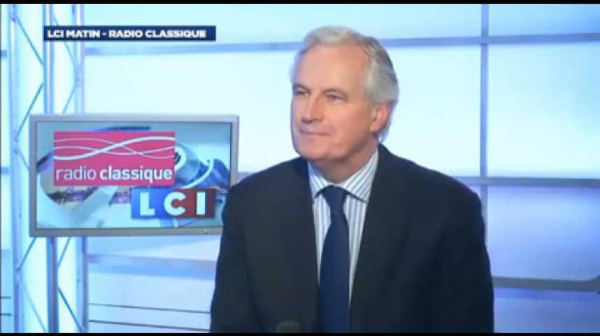 """Illustration pour la vidéo Michel Barnier : """"La base de nos relations, c'est la liberté de circulation qui ne veut pas dire « l'absence de règles » """""""