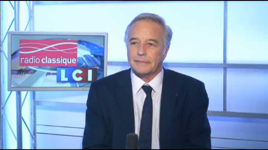 """Illustration pour la vidéo François Rebsamen : """"Je voudrais dénoncer le comportement de M. Gattaz, on ne parle pas comme ça de la France à l'étranger""""."""