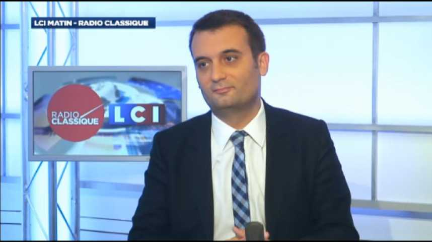 """Illustration pour la vidéo Florian Philippot: """"Macron incarne l'ultra-libéralisme le plus vorace, le plus féroce."""""""