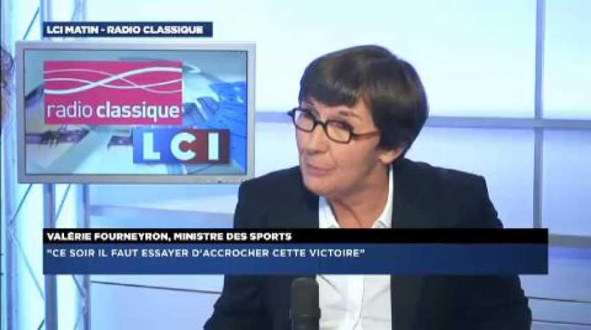 """Illustration pour la vidéo Valérie Fourneyron : """"C'est une période qui n'est pas facile pour le football français"""""""