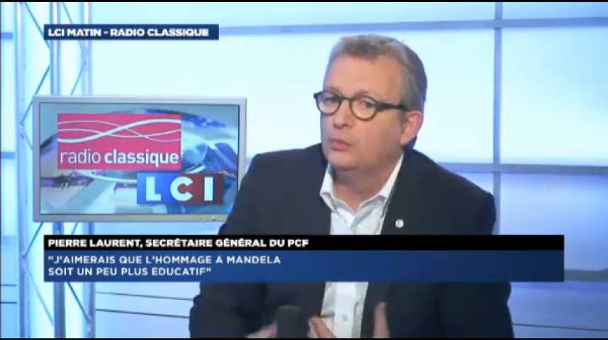 """Illustration pour la vidéo Pierre Laurent, secrétaire général du PCF: """"Quand quelqu'un vient travailler en France, il doit se soumettre aux conditions nationales"""""""
