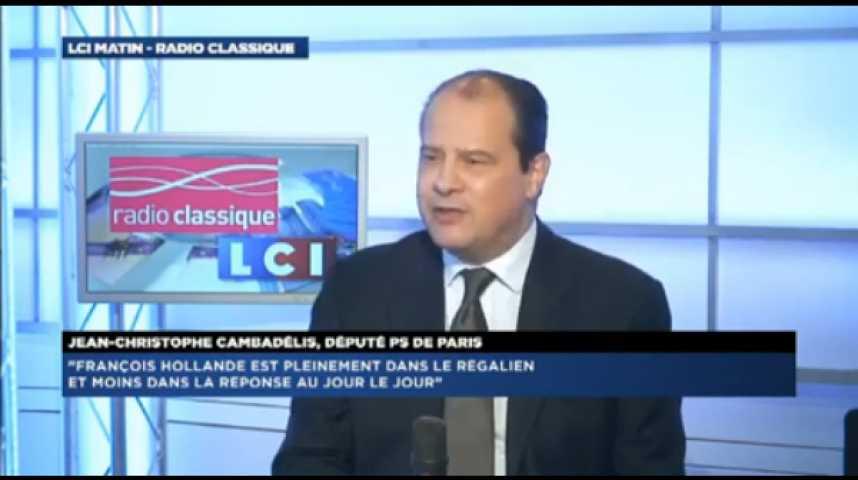 """Illustration pour la vidéo Jean-Christophe Cambadelis: """"la présidence dite normale est morte"""""""