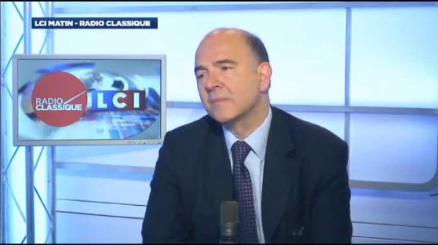 """Illustration pour la vidéo Pierre Moscovici: """"La réforme territoriale est une réforme d'intérêt général"""""""