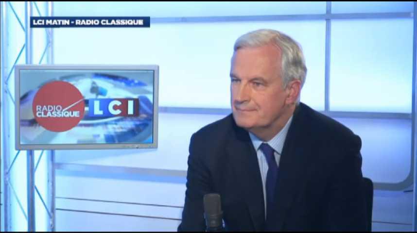 """Illustration pour la vidéo Michel Barnier : """"Si le gouvernement a le courage de proposer certaines mesures que nous souhaitons, l'opposition doit avoir le courage de le soutenir."""""""