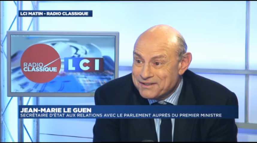 """Illustration pour la vidéo Jean-Marie Le Guen : """"La Loi Macron est une loi qui va libérer des forces qui existent dans notre économie pour plus de croissance"""""""