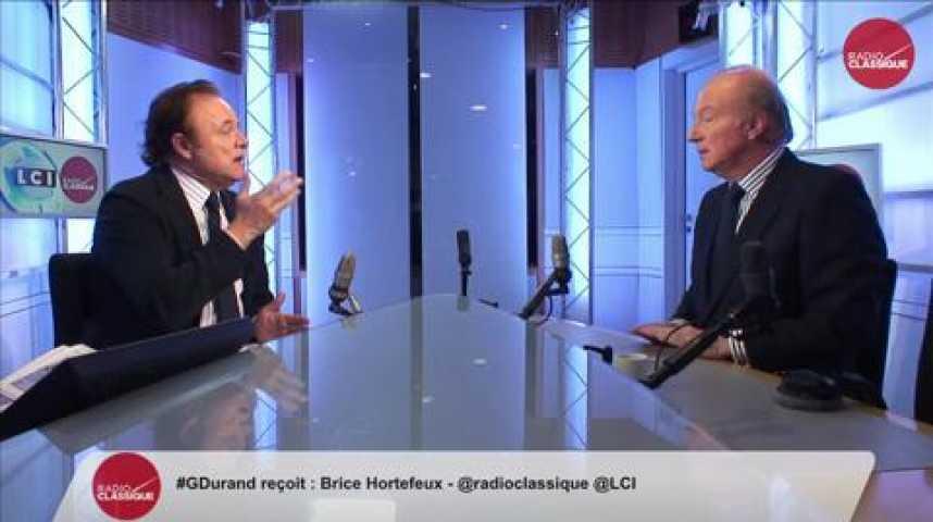 Illustration pour la vidéo Brice Hortefeux, ancien Ministre de l'Intérieur et vice président de l'UMP, était l'invité politique de Guillaume Durand ce lundi 9 février 2015 à 8h15 sur l'antenne de Radio Classique et LCI