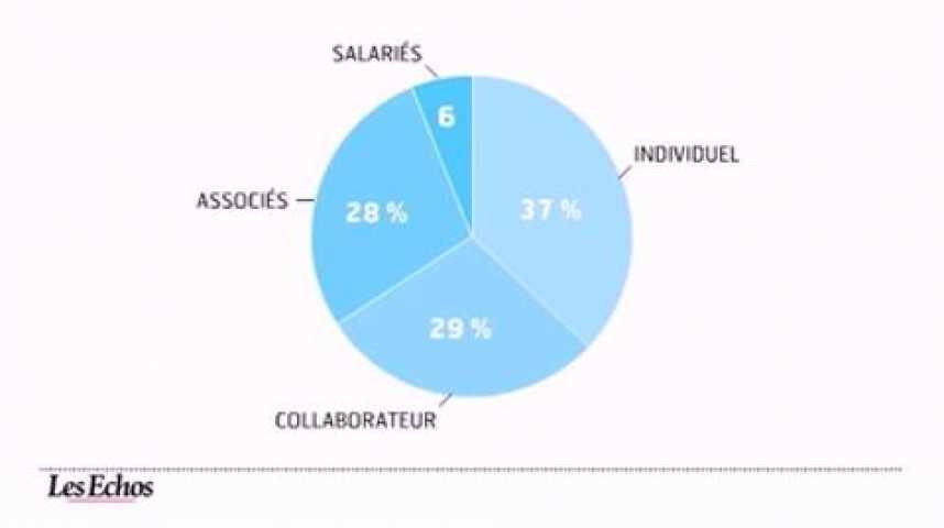 Illustration pour la vidéo L'infographie du jour : avocat, photographie d'une profession