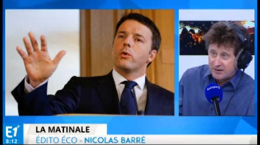 Illustration pour la vidéo Italie : Matteo Renzi, l'homme qui réussit ses réformes