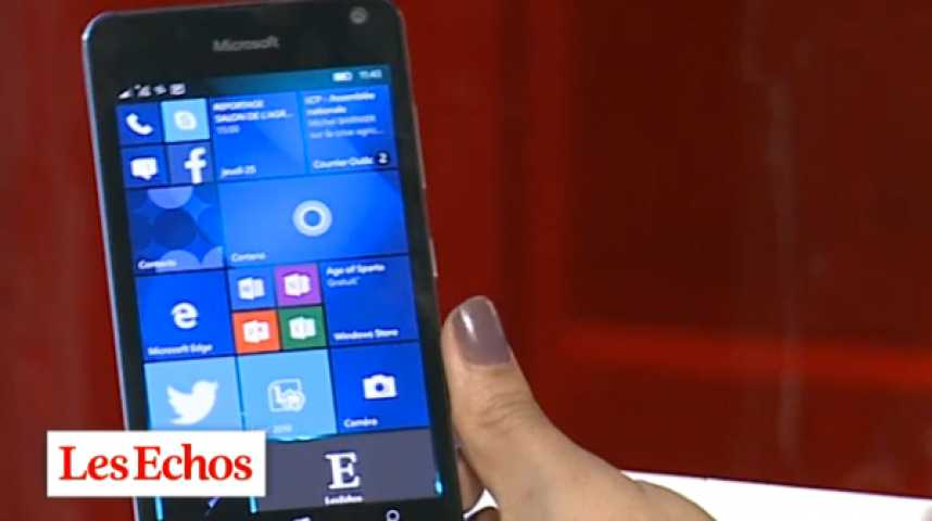 Illustration pour la vidéo Le Microsoft Lumia 650, un smartphone pour les «pros» ?