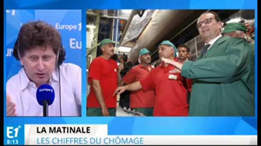 Illustration pour la vidéo Chômage : pourquoi François Hollande a-t-il perdu son pari ?