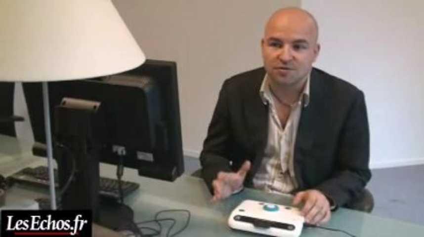 Illustration pour la vidéo Odimo : la première console de jeux pour aveugles et malvoyants