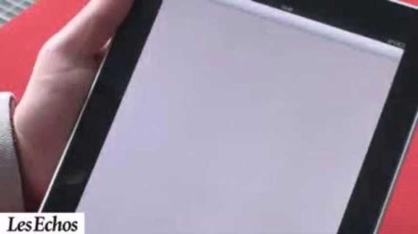 Illustration pour la vidéo Cinq tablettes à l'essai