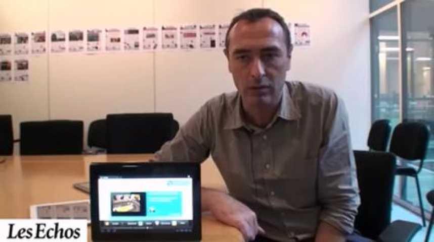Illustration pour la vidéo Le Sony Tablet S