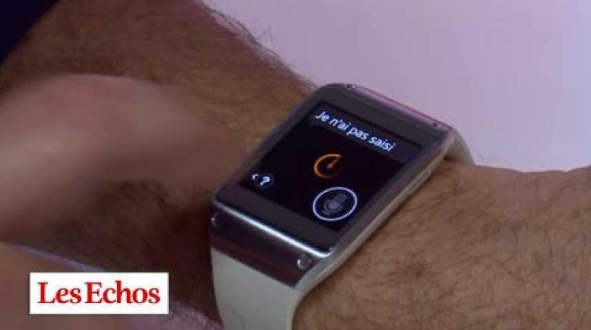 Illustration pour la vidéo Tests tech : la montre Galaxy Gear de Samsung en vidéo