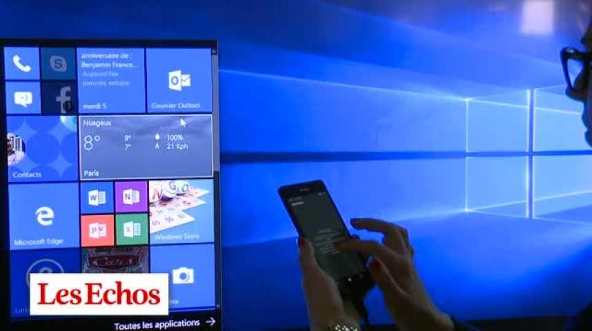 Illustration pour la vidéo Le Lumia 950, un pari réussi pour Microsoft
