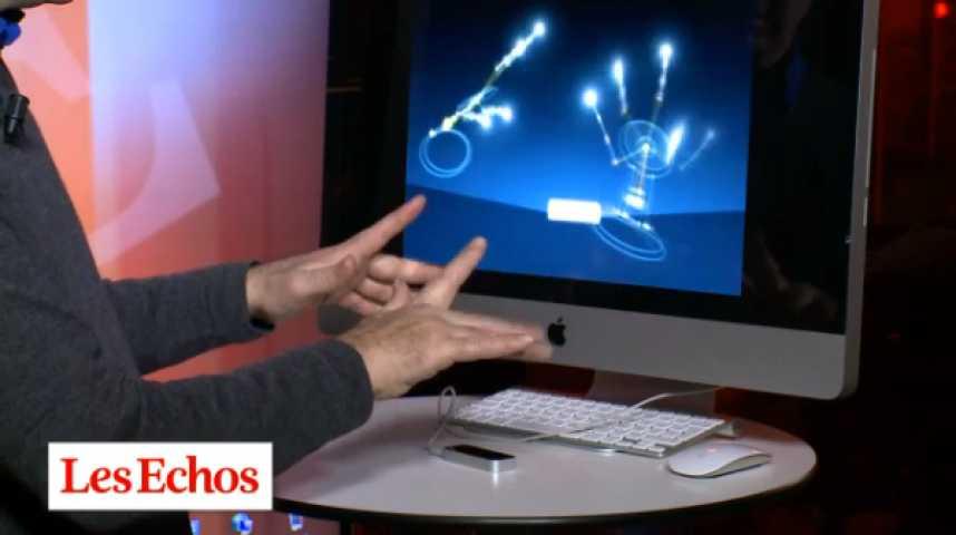 Illustration pour la vidéo Test tech : le boîtier Leap Motion en vidéo