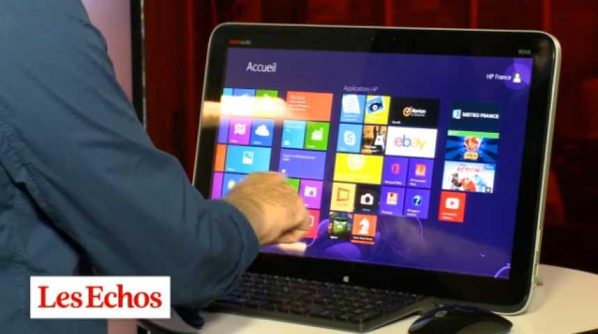 Illustration pour la vidéo Le PC qui se prend pour une tablette