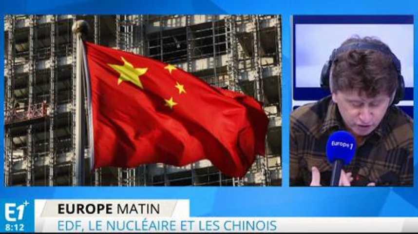 Illustration pour la vidéo Nucléaire : ne soyons pas naïfs avec les Chinois