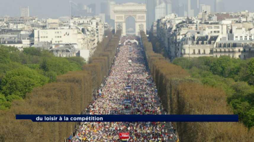 Illustration pour la vidéo La course à pied : un phénomène de société, un marché