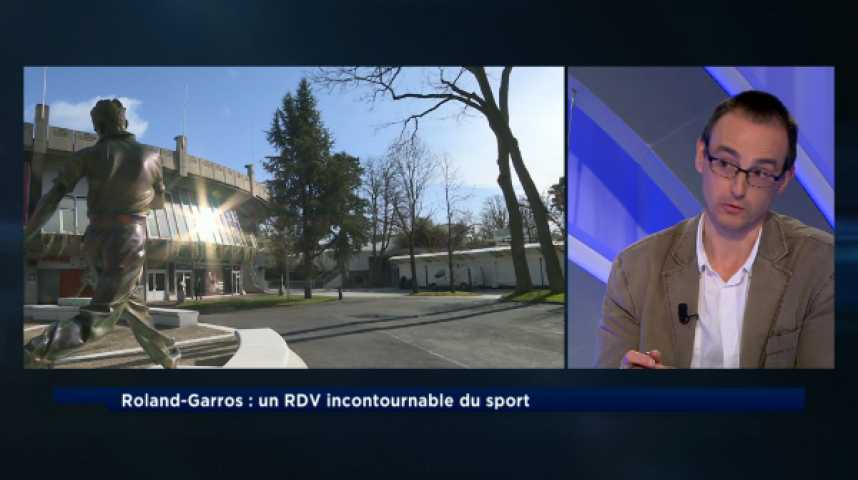 Illustration pour la vidéo Roland-Garros : un succès planétaire, une modernisation impérieuse