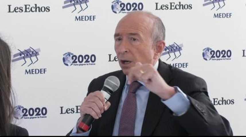 """Illustration pour la vidéo Gérard Collomb : """"Il y a toujours eu chez les socialistes un retard à l'allumage"""""""