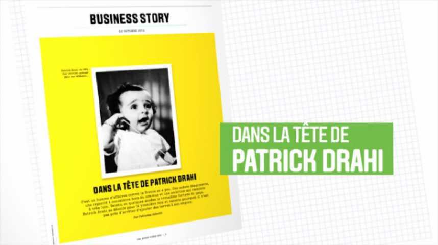 Illustration pour la vidéo Les Echos Week-End : Dans la tête de Patrick Drahi