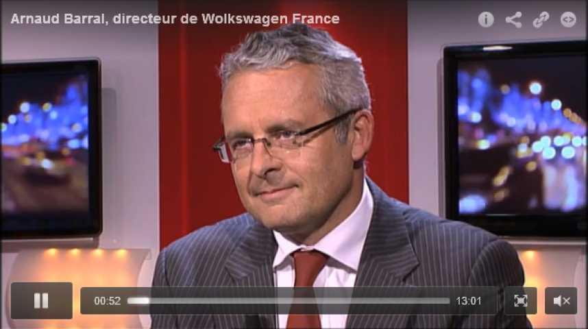 Illustration pour la vidéo Arnaud Barral, directeur de Volkswagen France
