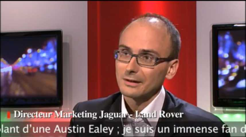 Illustration pour la vidéo David Bucher – Directeur marketing France de Jaguar – Land Rover