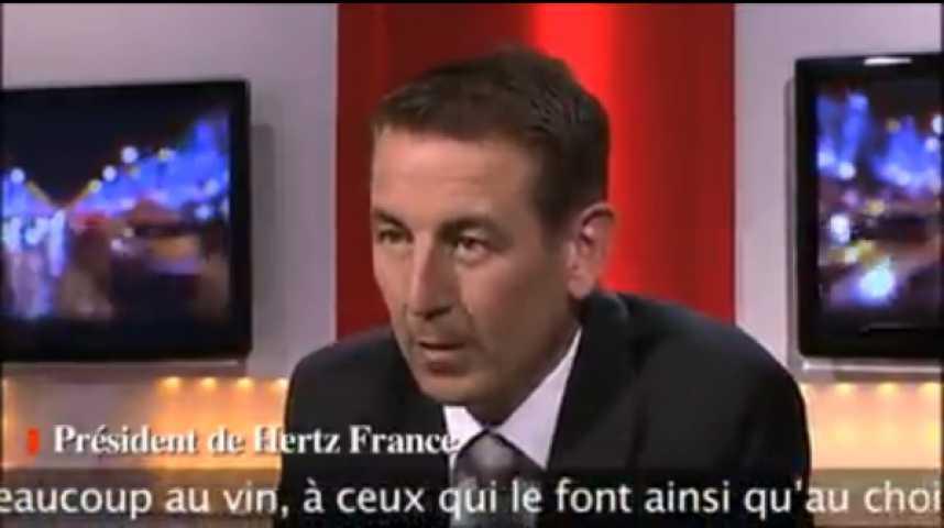 Illustration pour la vidéo Fabrice Quinquenel, président de Hertz France