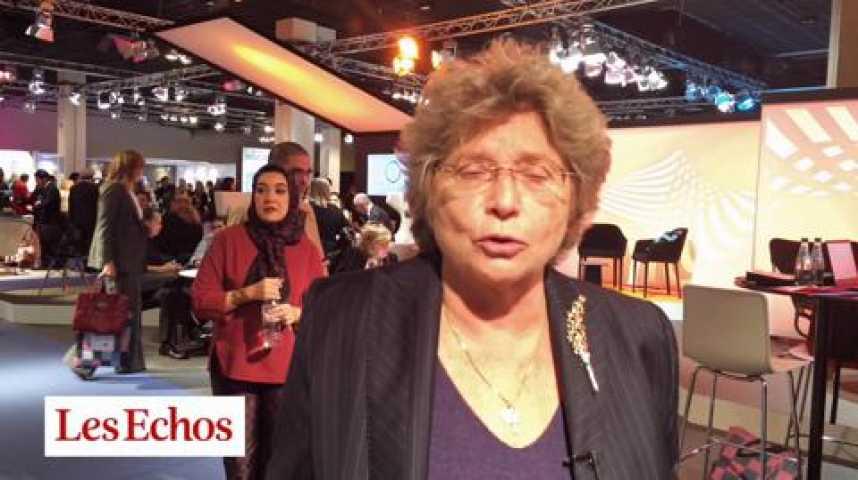 """Illustration pour la vidéo Jacqueline Franjou : """"Le Women's Forum ira en Tunisie, quels que soient les dangers"""""""