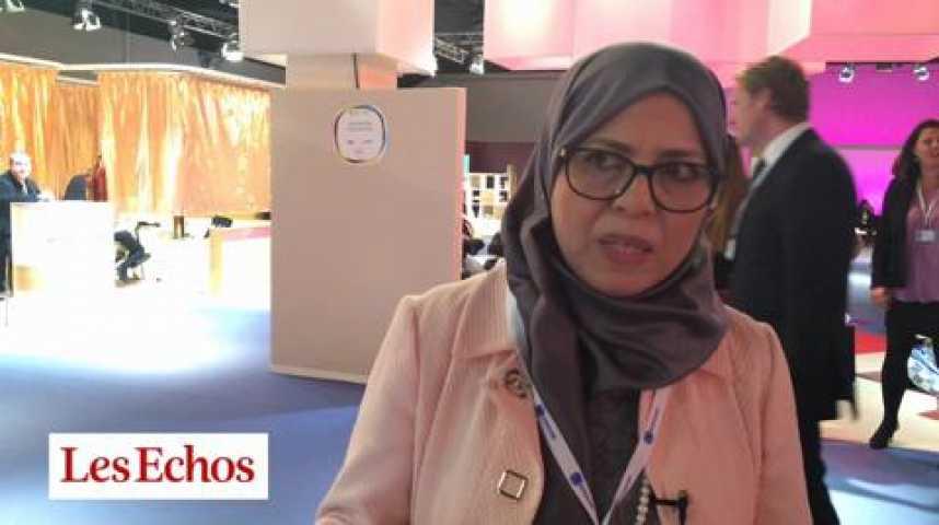 """Illustration pour la vidéo Amel Azzouz : """"Il faut trouver comment surmonter les défis de la transition démocratique en Tunisie"""""""