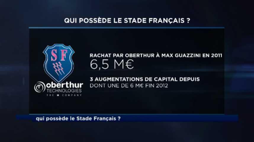 Illustration pour la vidéo Zizanie familiale au Stade Français