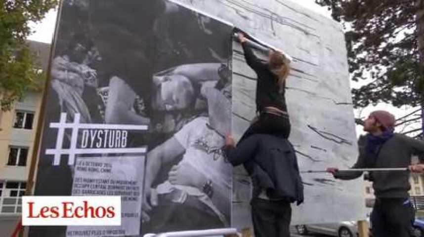 Illustration pour la vidéo #Dysturb : le photo-journalisme descend dans la rue