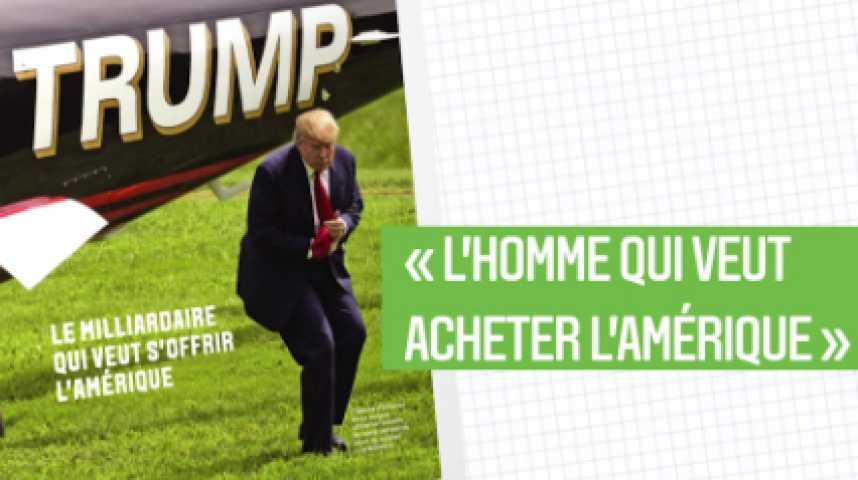 Illustration pour la vidéo Les Echos Week-End : l'affolant Donald Trump