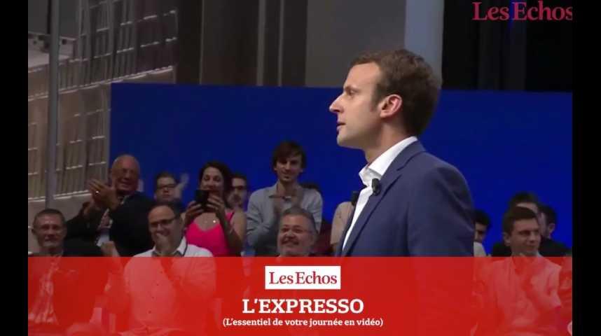 Illustration pour la vidéo Emmanuel Macron : Jour-J pour l'officialisation de sa candidature