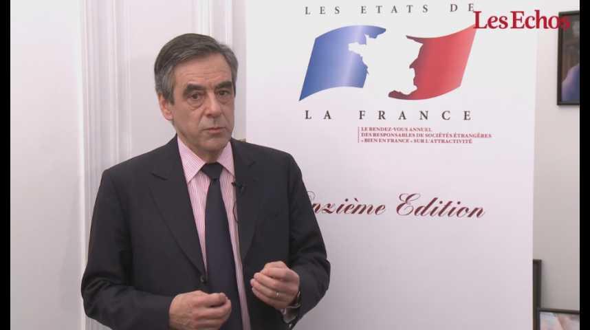 Illustration pour la vidéo François Fillon : «Baisser les charges, assouplir le marché du travail et changer la fiscalité de l'investissement»