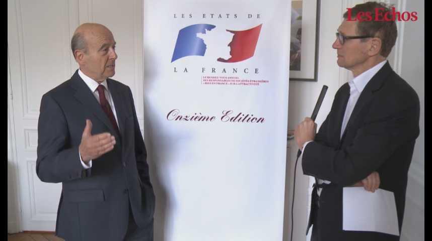 Illustration pour la vidéo Alain Juppé : «Donner aux Français de l'étranger l'envie de revenir en France»